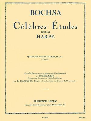 Robert Nicholas Charles Bochsa: Célèbres Études pour la harpe, 1
