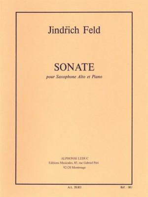 Jindrich Feld: Sonata for Alto Saxophone and Piano