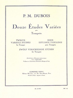 Pierre-Max Dubois: 12 Various Studies