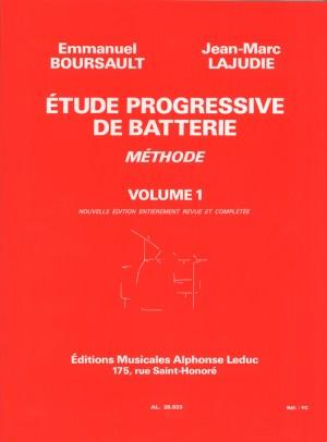 Boursault_ Lajudie: Etude Progressive de Batterie 1