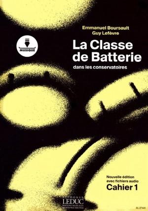 Emmanuel Boursault: La Classe de Batterie dans les Conservatoires 1