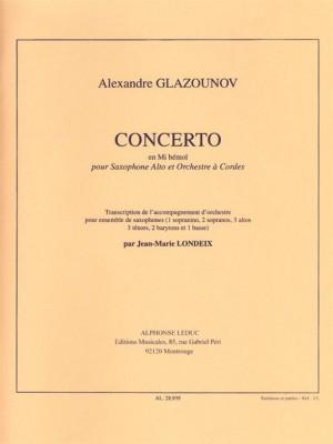 Alexander Glazunov: Concerto Op.109 in E flat major