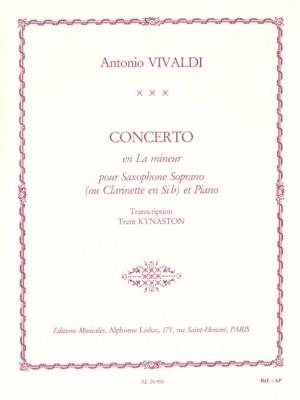 Antonio Vivaldi: Concerto FVII/5 RV461 In A Minor