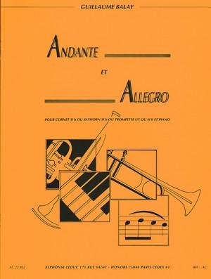 Guillaume Balay: Andante et Allegro