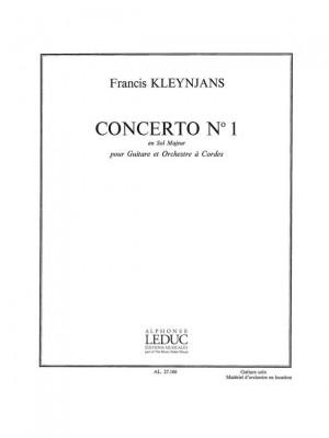 Francis Kleynjans: Francis Kleynjans: Concerto No.1 in G major