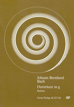 Bach, JB: Orchestersuite Nr. 1 (g-Moll)