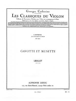 Jean-Baptiste Loeillet: John Loeillet: Gavotte et Musette