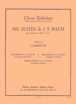 Johann Sebastian Bach: Six Suites BWV1007-12