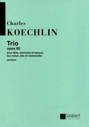 Koechlin: Trio Op.92