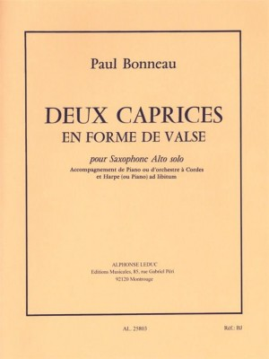 Paul Bonneau: 2 Caprices en Forme de Valse
