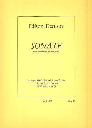 Edison Denisov: Sonata For Alto Saxophone And Piano Product Image