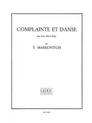 Ivan Markovitch: Complainte Et Danse