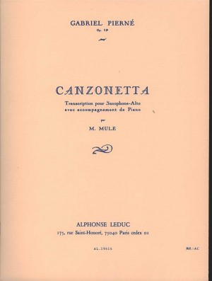 Gabriel Pierné: Canzonetta