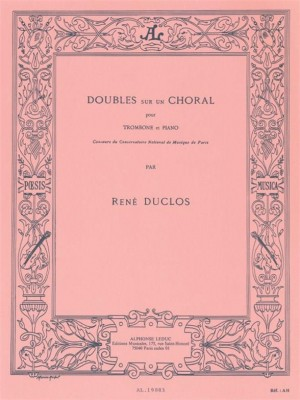 Duclos: Doubles Sur Un Choral