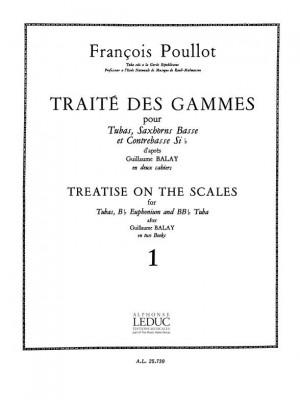 François Poullot: François Poullot: Traite des Gammes Vol.1