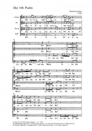 Doernberg: Der 148. Psalm