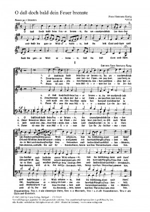 Kurig: Fünf Kirchenliedsätze