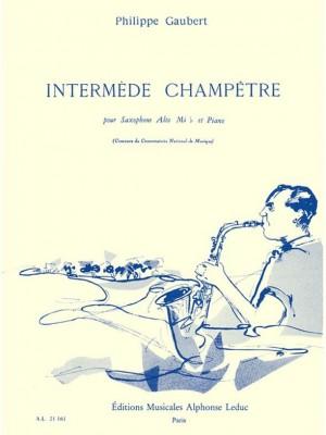 Philippe Gaubert: Intermede Champetre