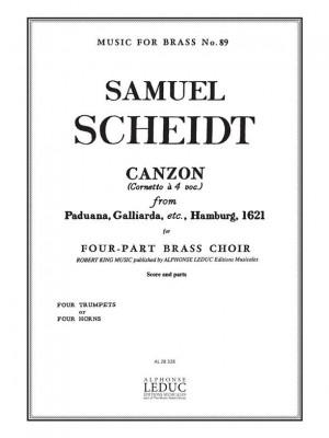 Samuel Scheidt: Samuel Scheidt: Canzon