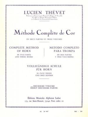 Thevet: Complete Method of Horn (Volume 2)