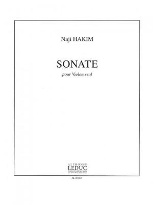 Naji Hakim: Sonate Pour Violon Seul
