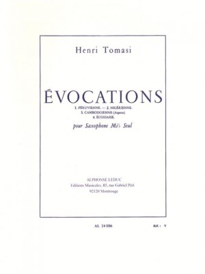Henri Tomasi: vocations
