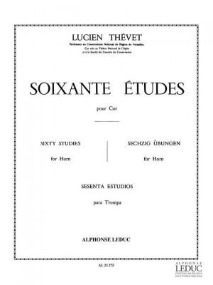 Thevet: 60 Etudes - Vol. 1