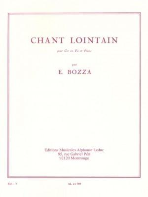 Eugène Bozza: Chant Lointain