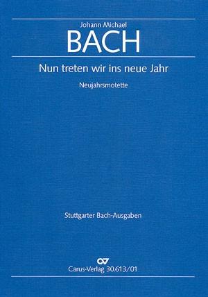 Bach, JM: Nun treten wir ins neue Jahr