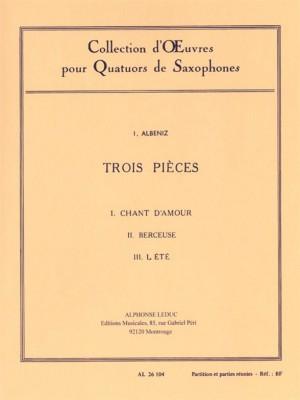 Isaac Albéniz: 3 Pieces