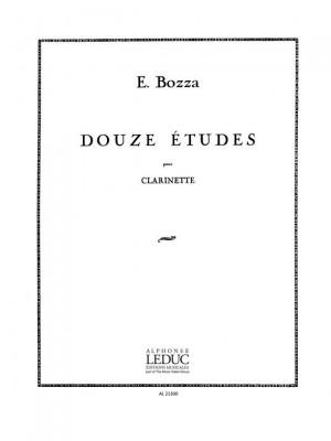 Eugène Bozza: Twelve Etudes
