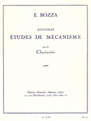 Eugène Bozza: 14 Etudes De Mécanisme