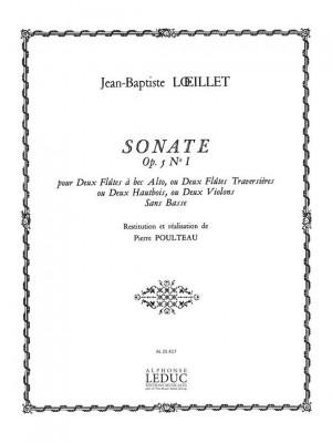 Jean-Baptiste Loeillet: Sonate Op.5 No.1