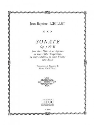 Jean-Baptiste Loeillet: Sonate Op.5 No.2