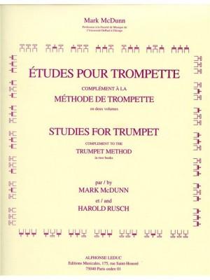 Mark McDunn_Harold Rusch: Etudes pour Trompette