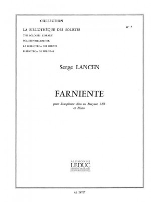 Serge Lancen: Farniente