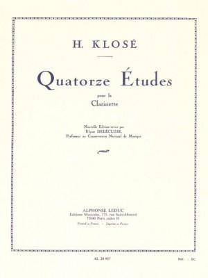 Hyacinthe-Eléonore Klosé: 14 Etudes Op18