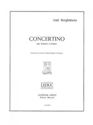 Berghmans: Concertino -Tromb.Et Orch