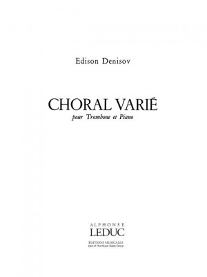 Edison Denisov: Choral varié