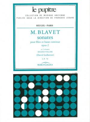Michel Blavet: Sonates pour flutes et continuo op 2 volume 2
