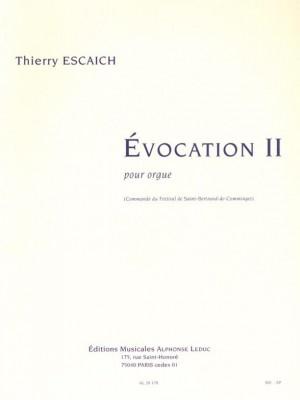 Thierry Escaich: Evocation Ii