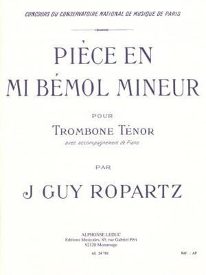 Joseph Guy Ropartz: Piece En Mib Mineur
