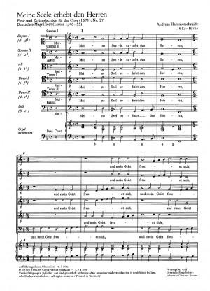 Hammerschmidt: Magnificat
