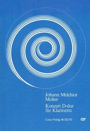 Molter: Klarinettenkonzert in D (VI36; D-Dur)