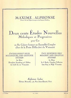 200 Études Nouvelles Mélodiques et Progressives