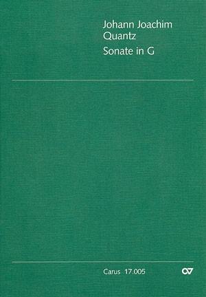 Sonate in G (QV 1:110; G-Dur)
