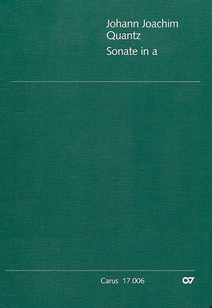 Sonate in a (QV 1:147; a-Moll)