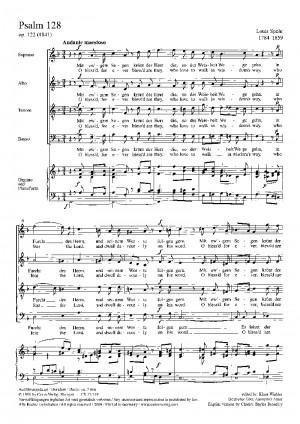 Spohr: Psalm 128 (Op.122)