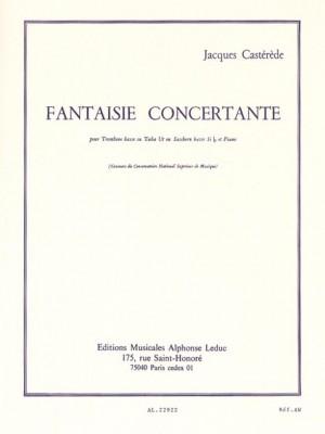 Jacques Castérède: Fantaisie Concertante