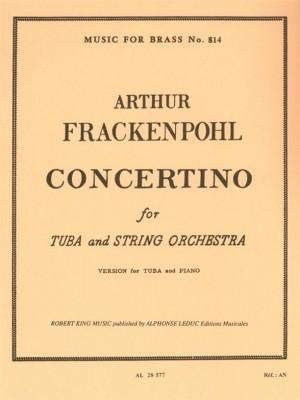 Arthur R. Frackenpohl: Concertino for Tuba